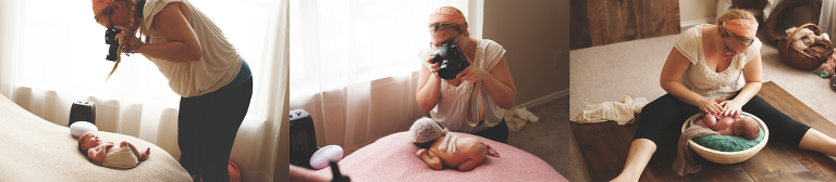 Newborn Photography Mentoring with Purest Light Photography
